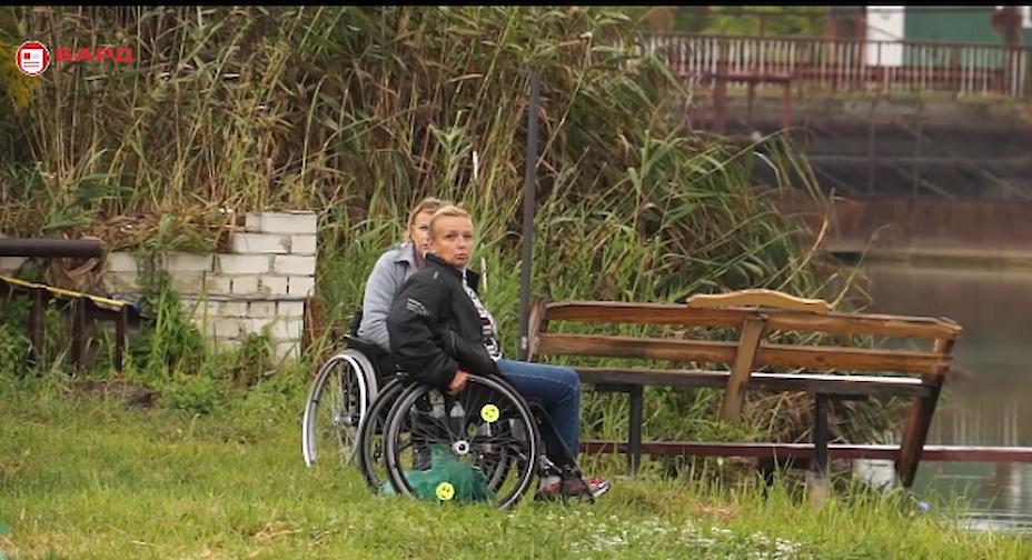 На Обухівщині пройшов турнір серед спортсменів з обмеженими можливостями (відео)