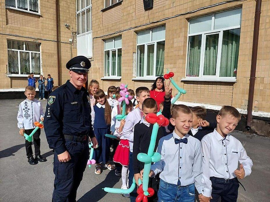 До обухівських шкіл завітали поліцейські