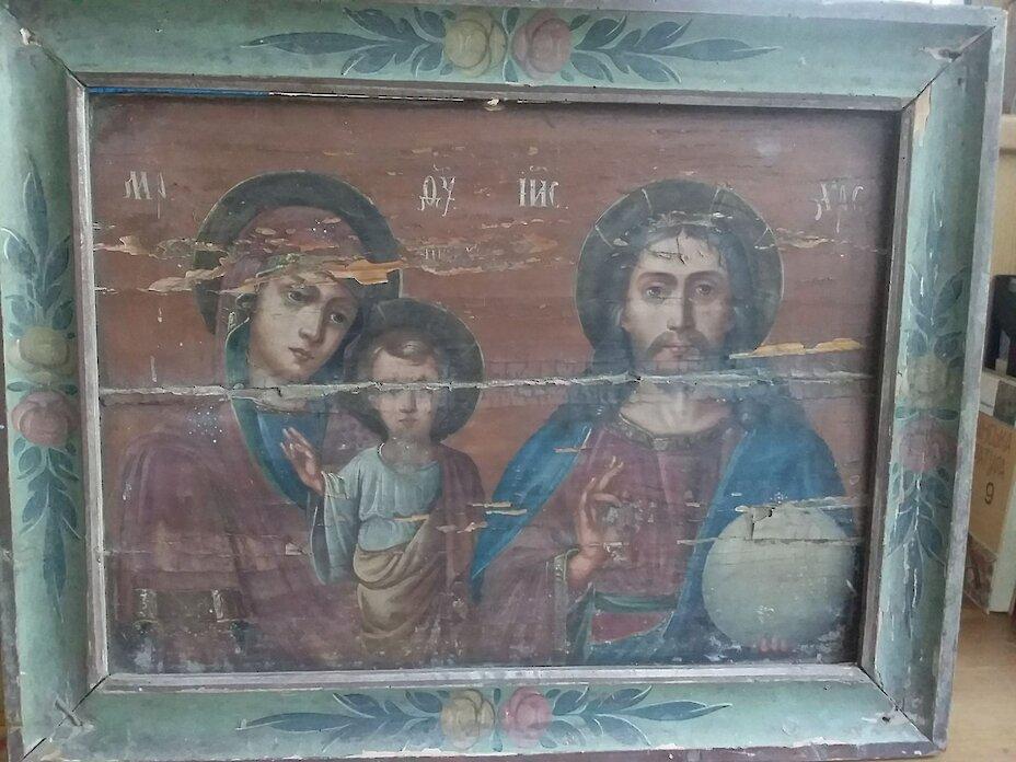 Ікона легендарних обухівських богомазів повернулася до міста