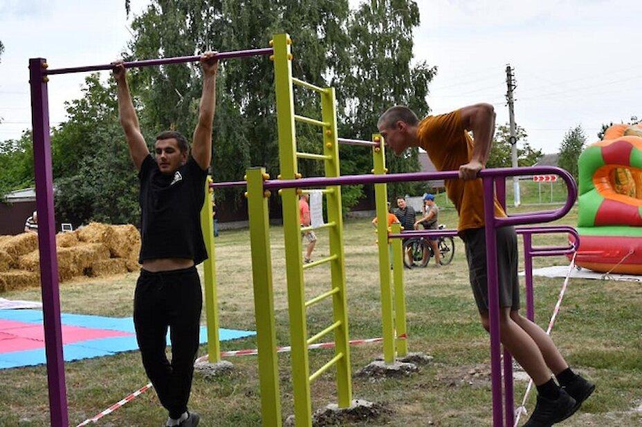 На Обухівщині створили «активний парк»
