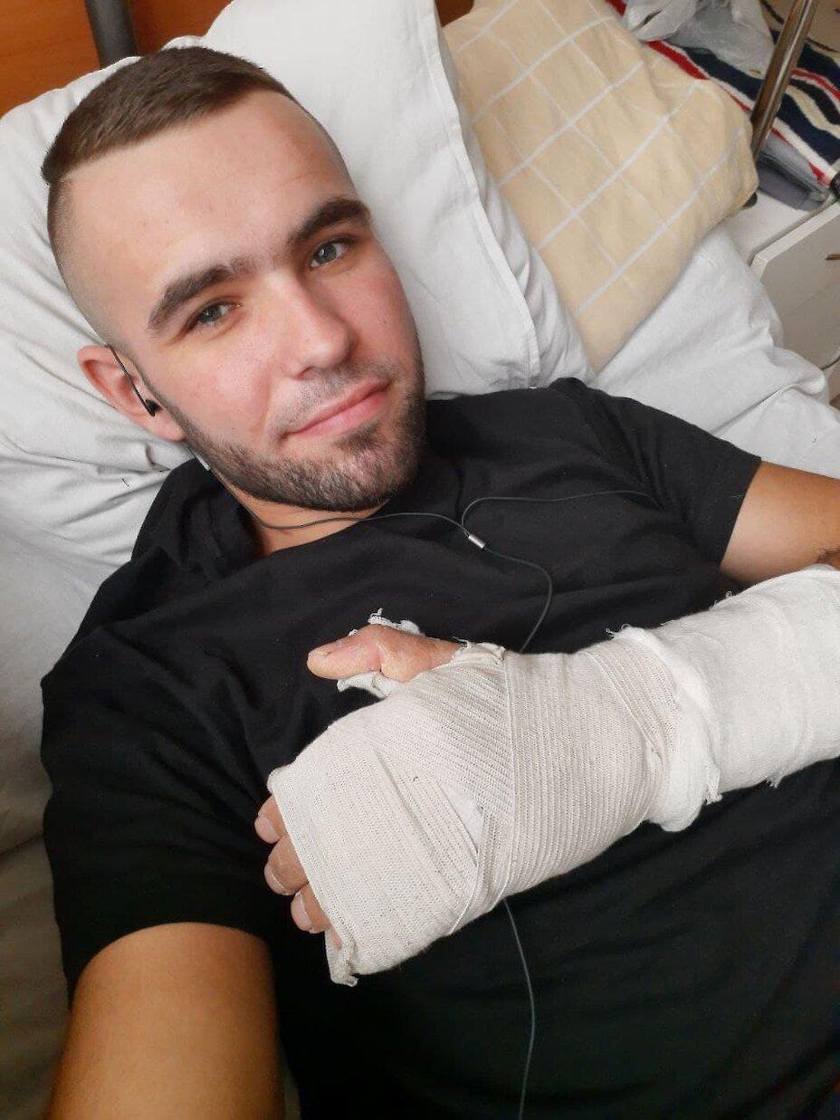 Євгена Глоба ― 22-річний ветеран АТО/ООС, який продовжує боротись за своє здоров'я