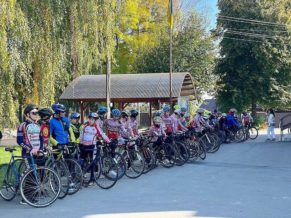 На Обухівщині пройшов фестиваль з велоспорту