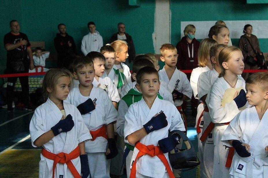 В Обухові відбувся Кубок міста з кіокушинкай карате