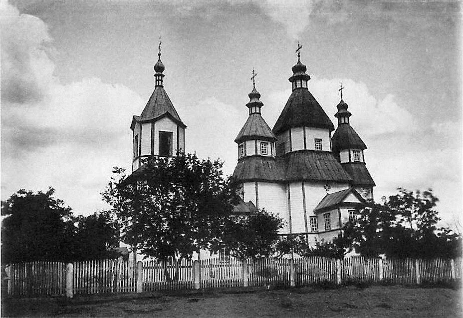 Введенская церковь в м. Трипольи Киевского уезда