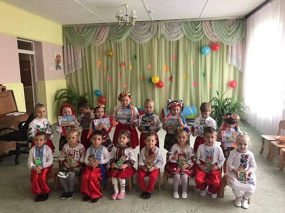 На Обухівщині у дитсадках дітям розповіли про життя козаків
